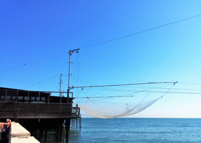 rete su palafitta
